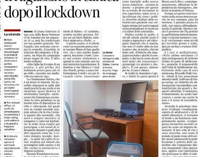 Disturbi alimentari e obesità post lockdown. I consigli della psicologa Giuliana Guadagnini.